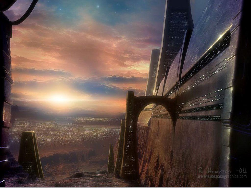 Fantasy Wallpaper: Future World
