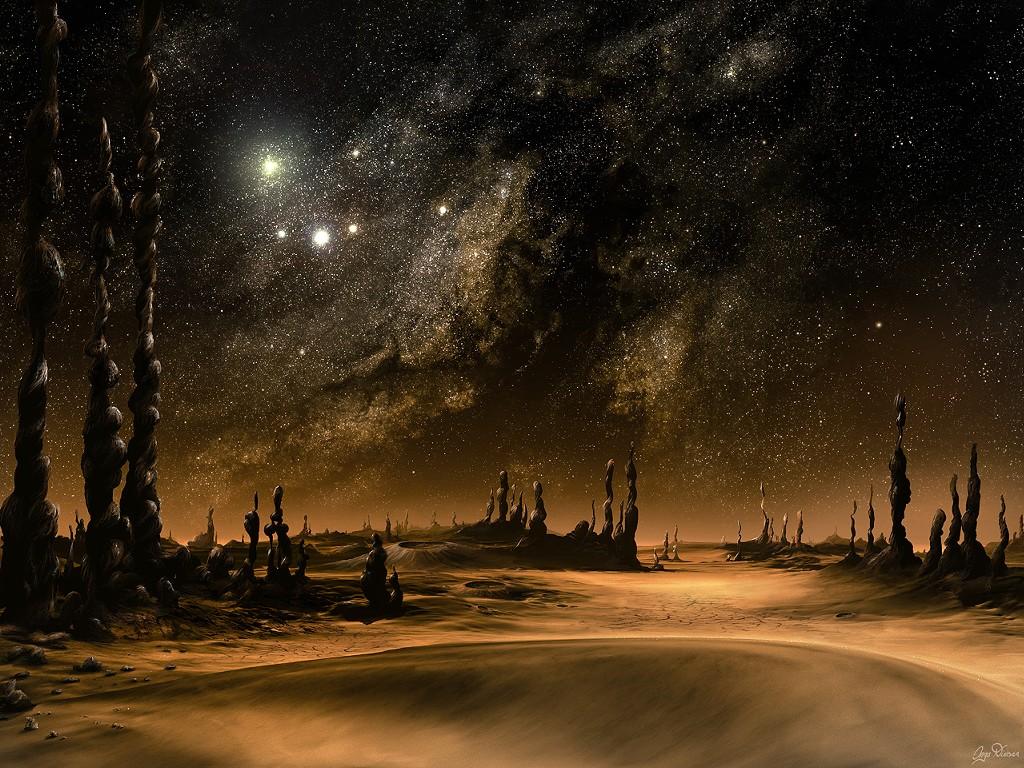 Fantasy Wallpaper: Galaxy Rise