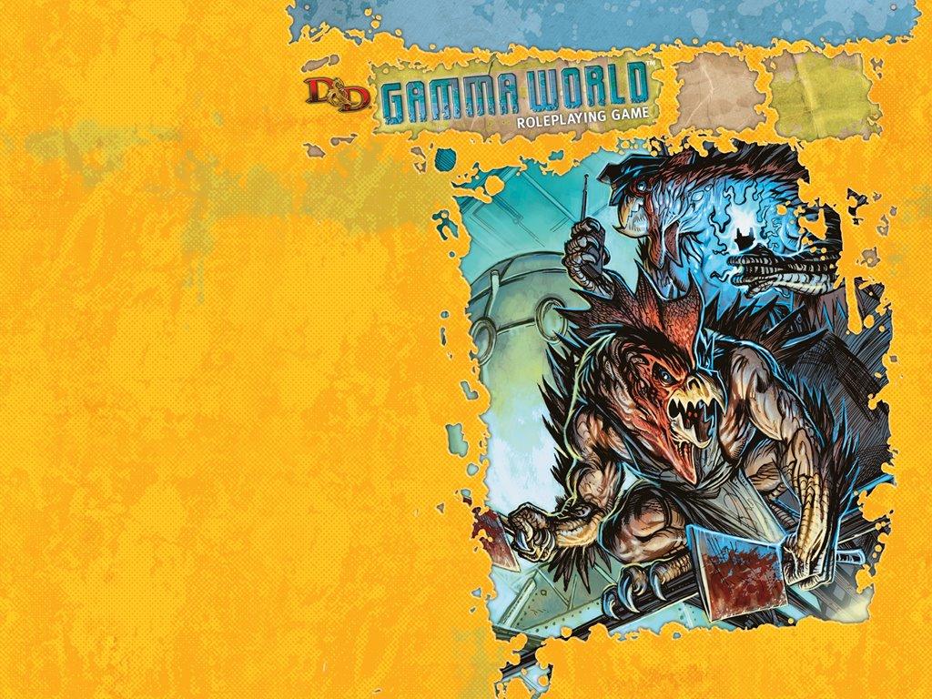 Fantasy Wallpaper: Gamma World