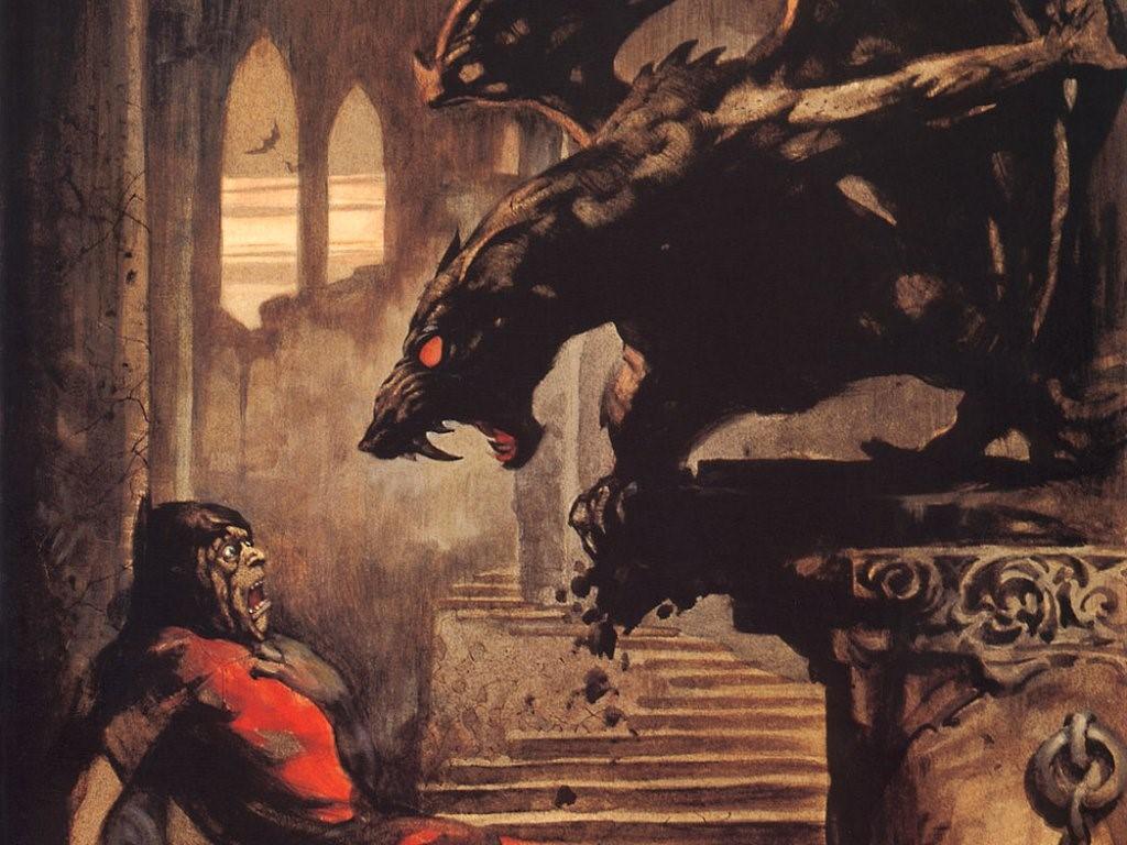 Fantasy Wallpaper: Gargoyle