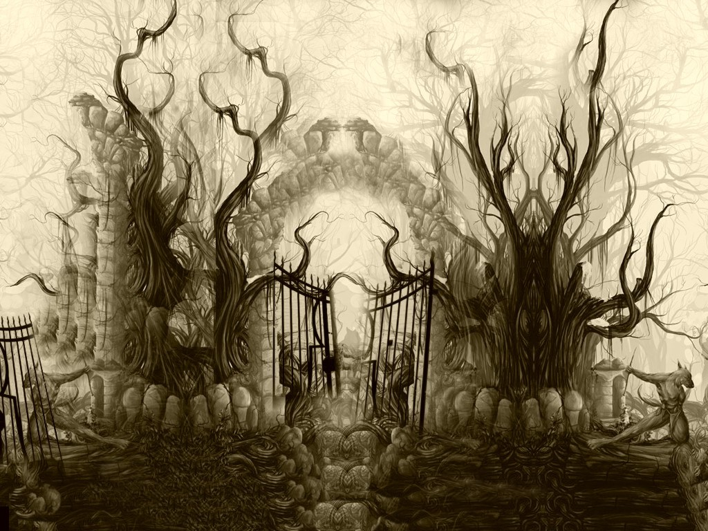 Fantasy Wallpaper: Gates of Morpheus