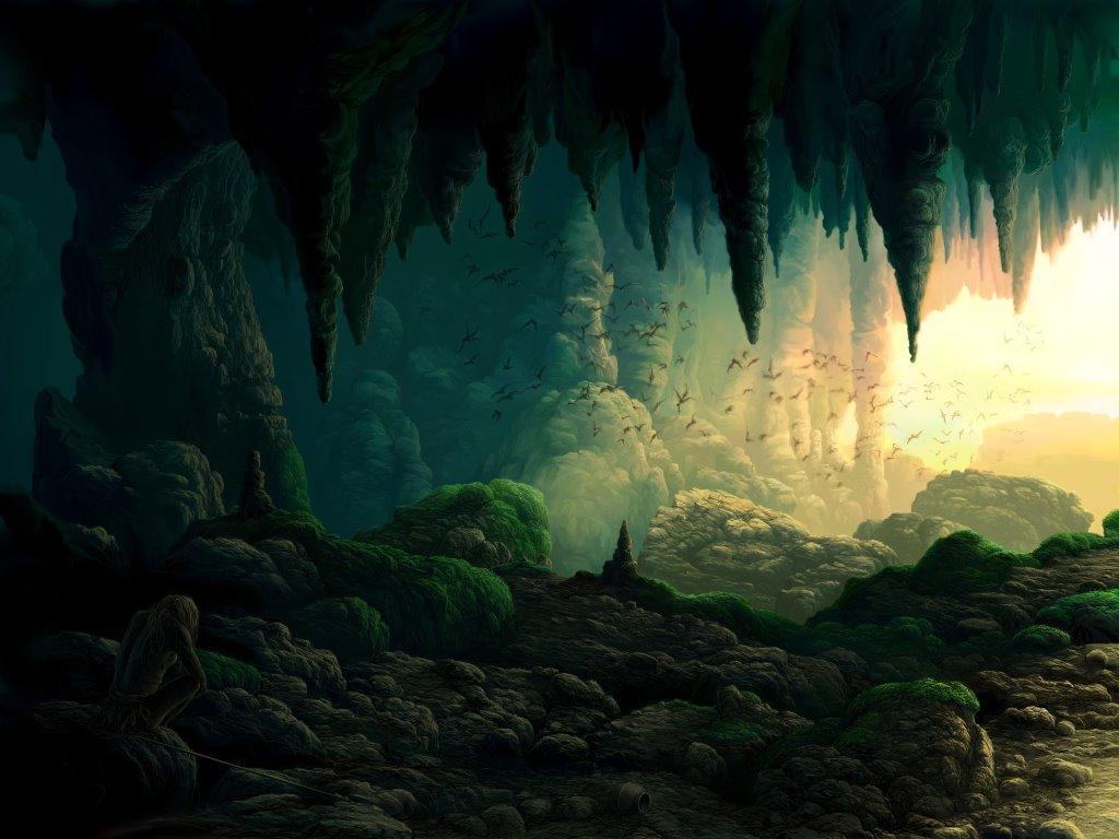Fantasy Wallpaper: Gollum