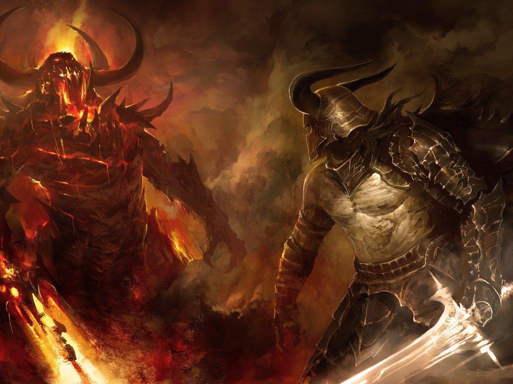 Fantasy Wallpaper: Good vs Evil