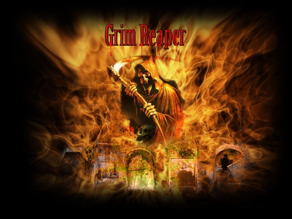Fantasy Wallpaper: Grim Reaper