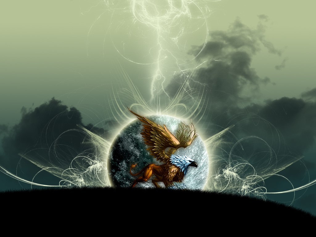 Fantasy Wallpaper: Gryphon