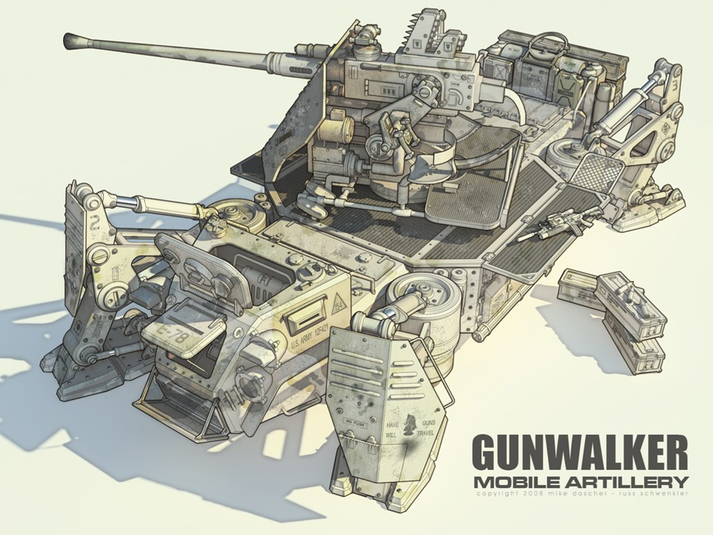 Fantasy Wallpaper: Gunwalker