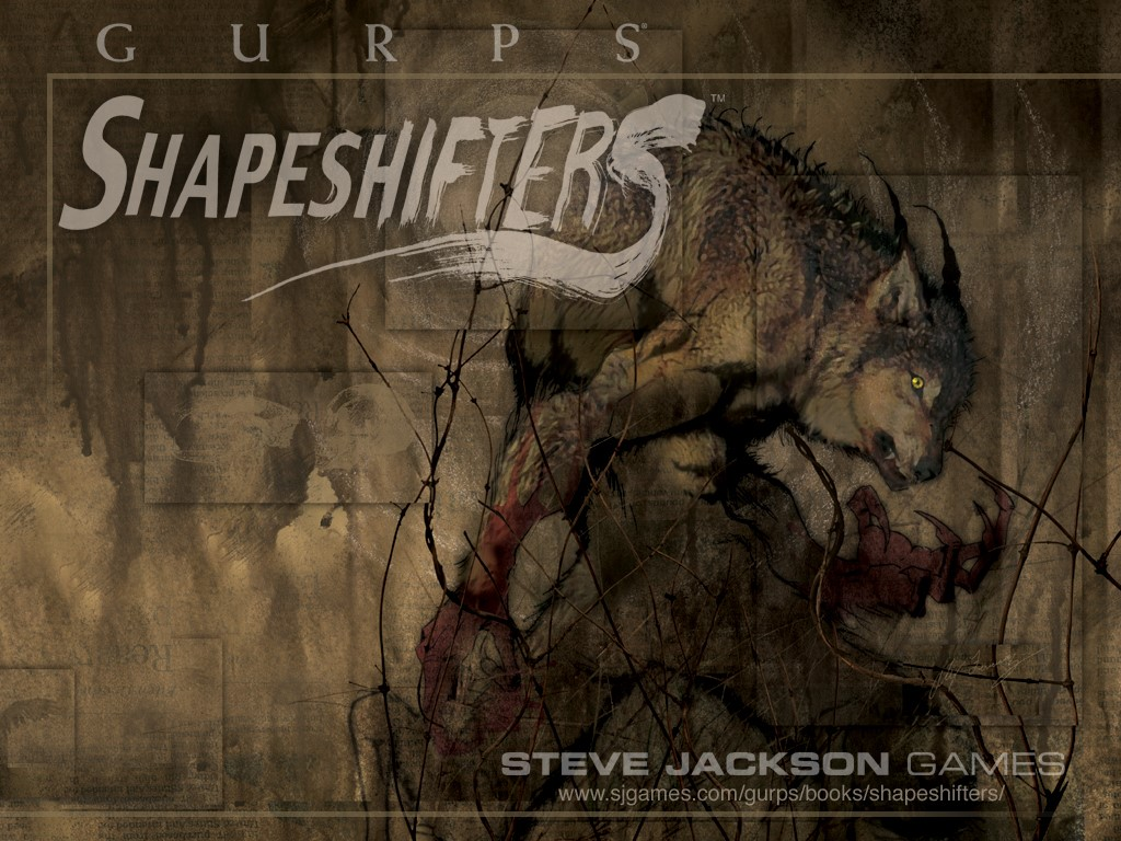 Fantasy Wallpaper: GURPS - Shapeshifters