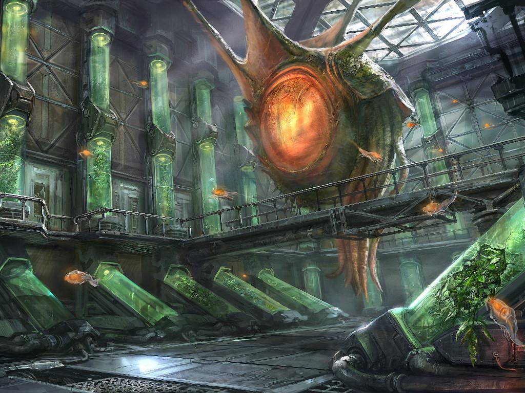 Fantasy Wallpaper: Hail the Ecto Master