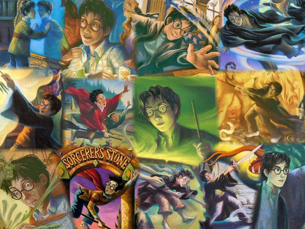 Fantasy Wallpaper: Harry Potter - Covers