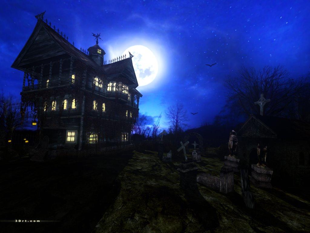 Fantasy Wallpaper: Haunted House