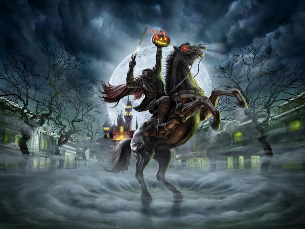 Fantasy Wallpaper: Headless Horseman
