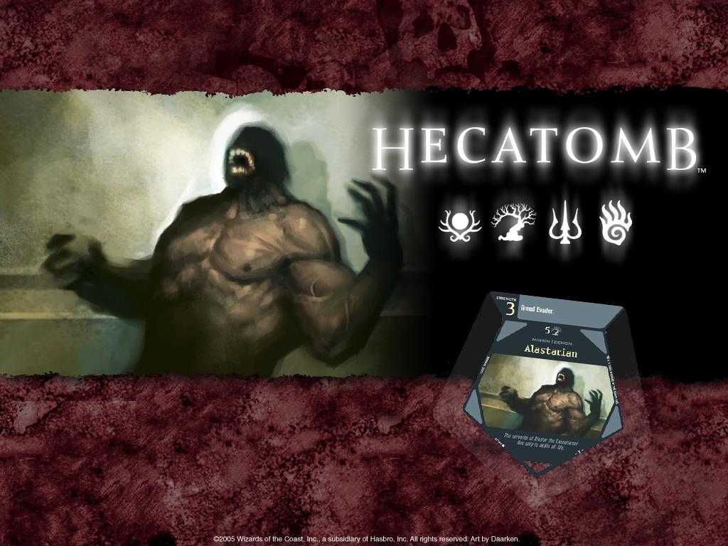 Fantasy Wallpaper: Hecatomb