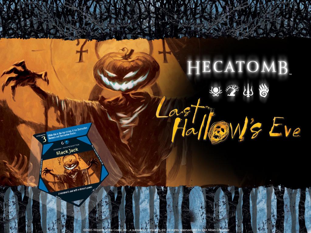 Fantasy Wallpaper: Hecatomb - Halloween