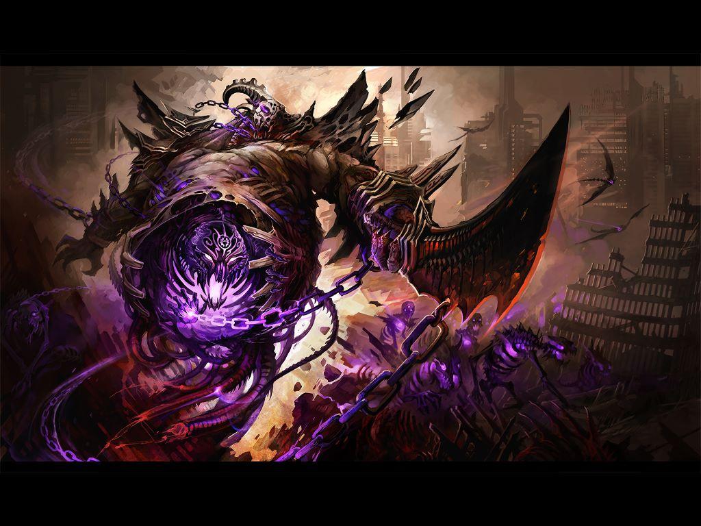 Fantasy Wallpaper: Hell Commander