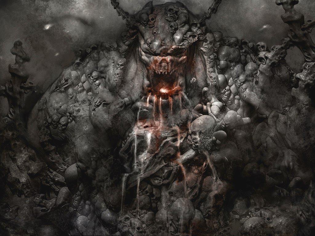 Fantasy Wallpaper: Hell Engraving