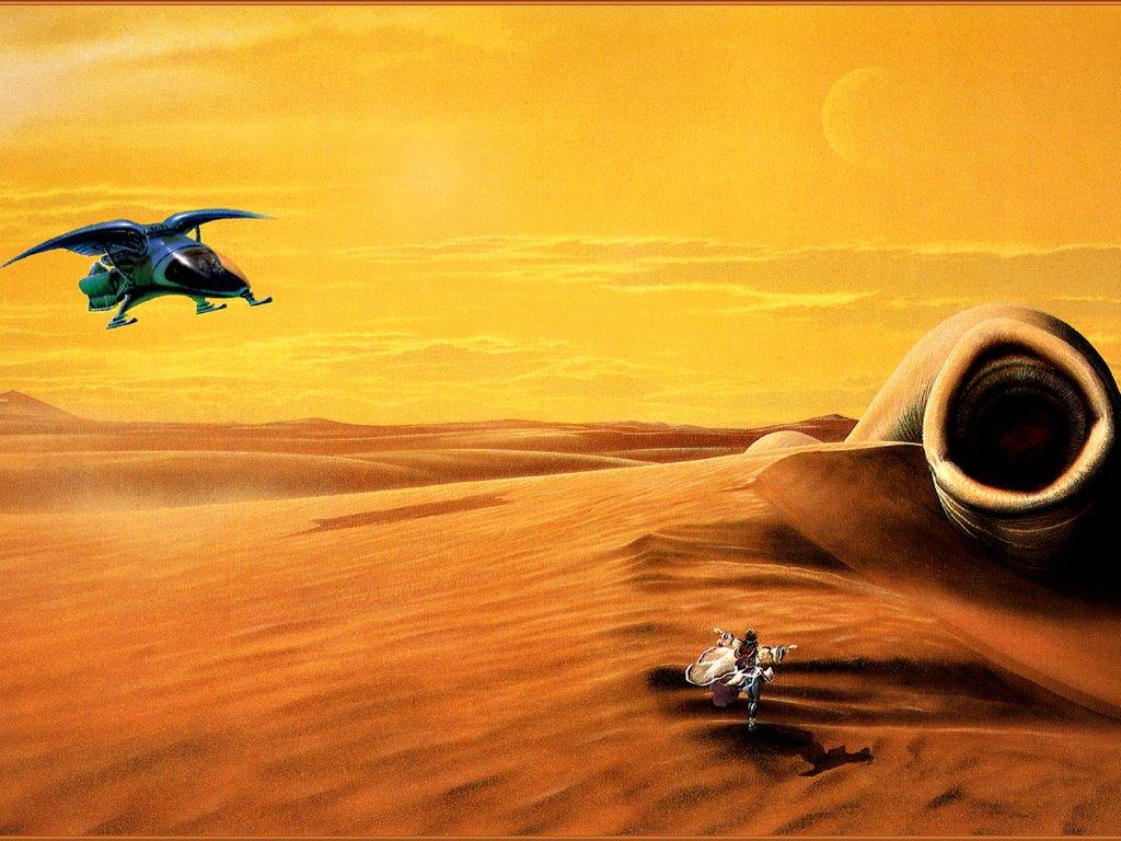 Fantasy Wallpaper: Heretics of Dune