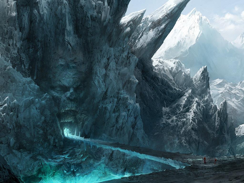 Fantasy Wallpaper: Hidden Cave