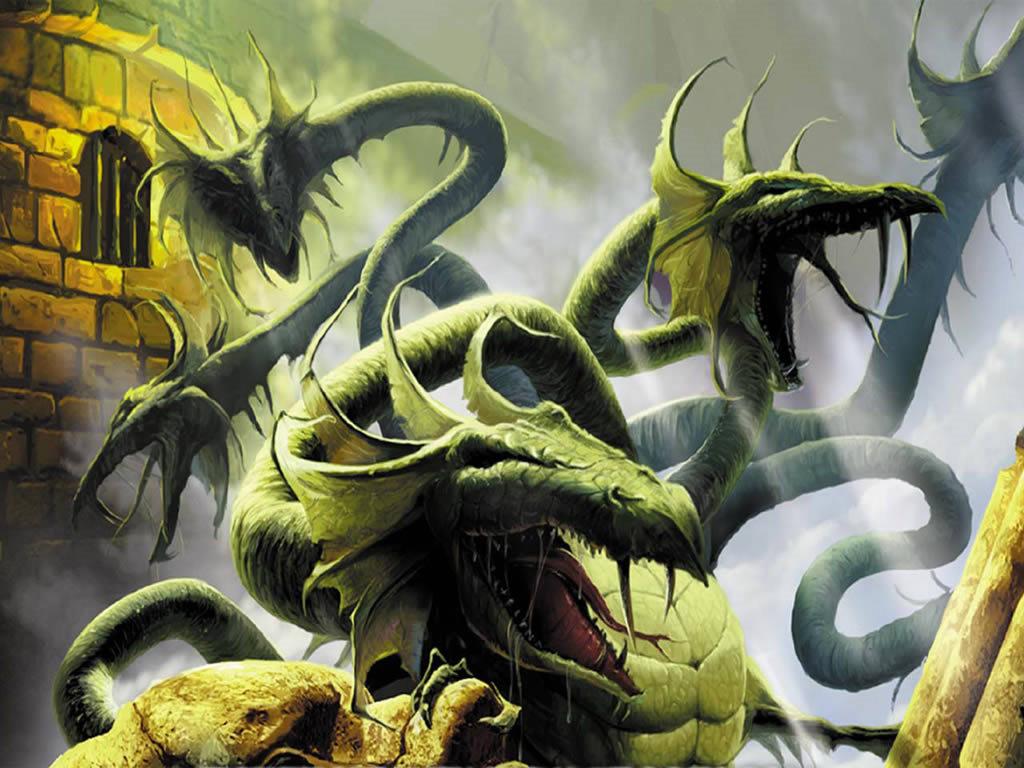 Fantasy Wallpaper: Hidra