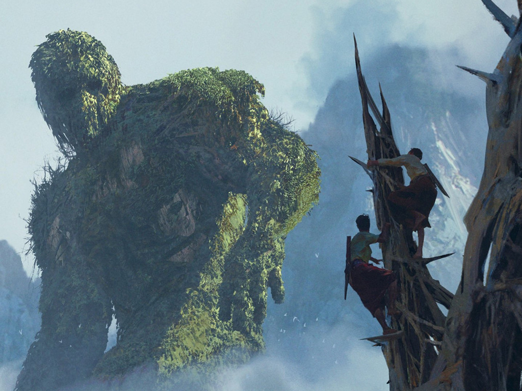 Fantasy Wallpaper: Hill Titan