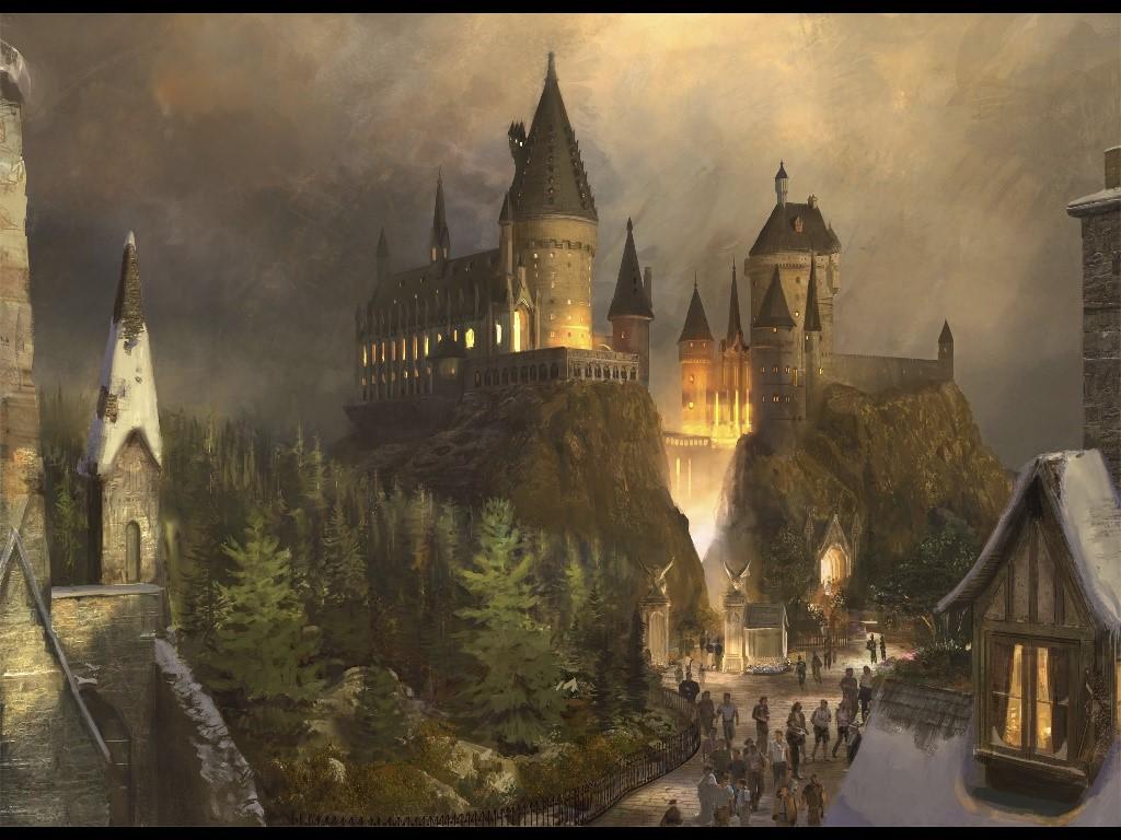 Fantasy Wallpaper: Hogwarts