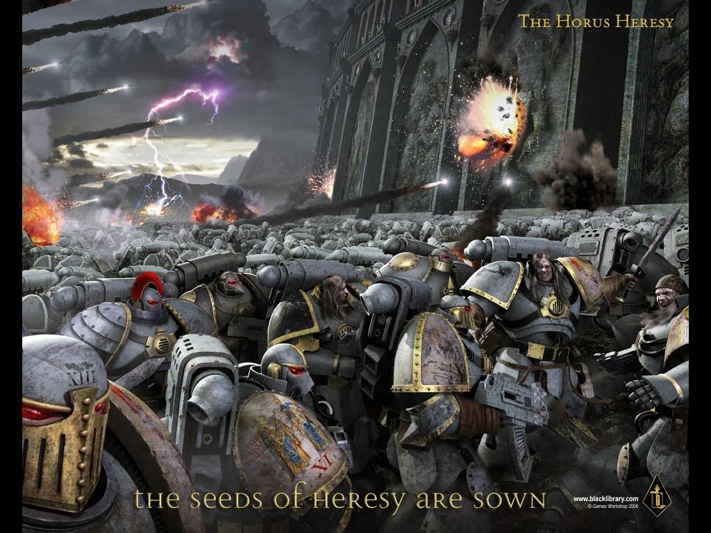 Fantasy Wallpaper: Horus Heresy