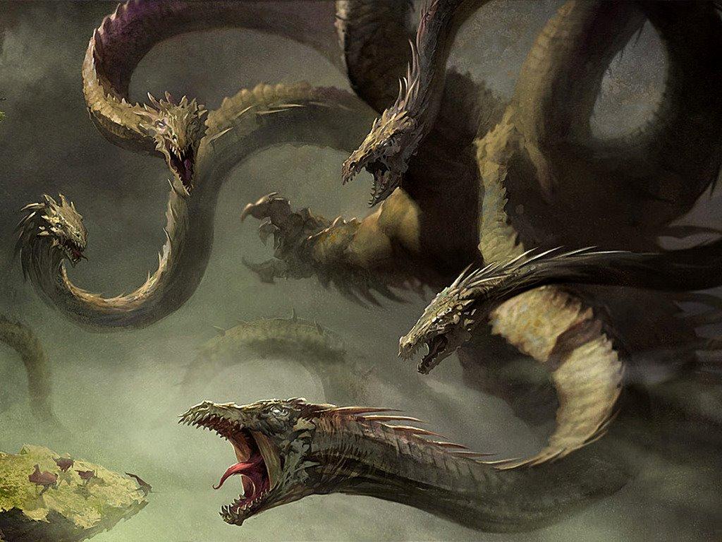 Fantasy Wallpaper: Hydra