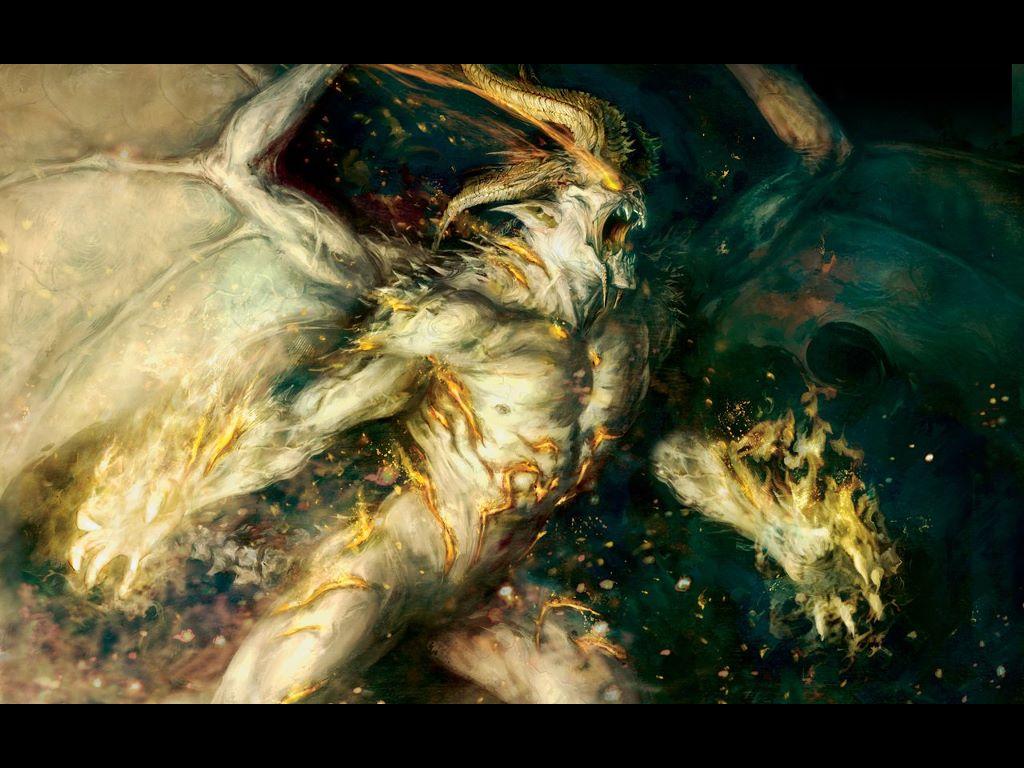 Fantasy Wallpaper: Demon