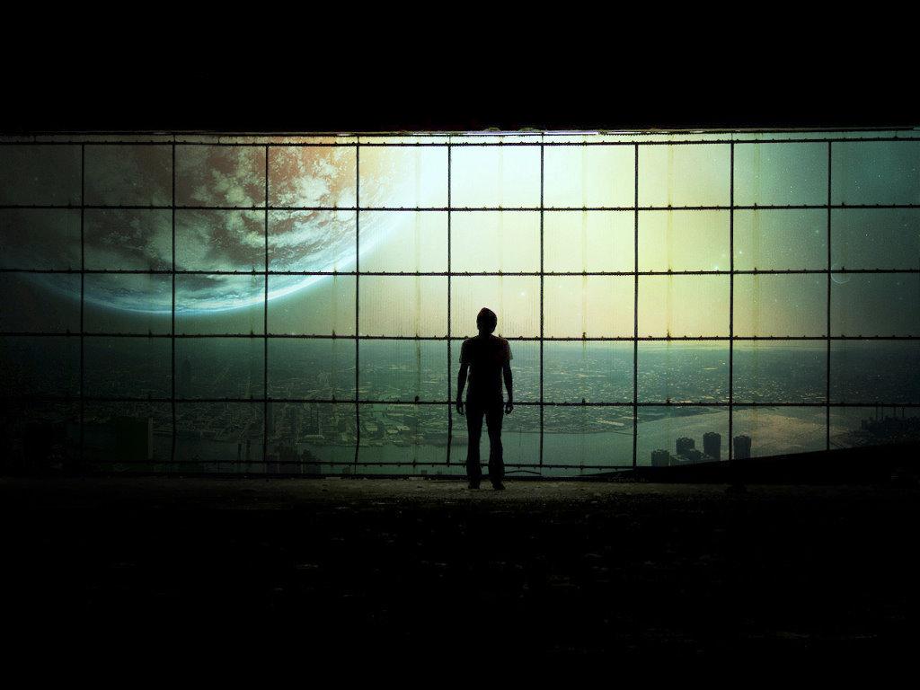 Fantasy Wallpaper: Incoming Planet