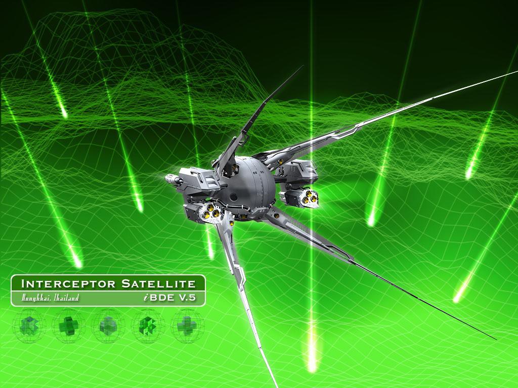 Fantasy Wallpaper: Interceptor Satellite