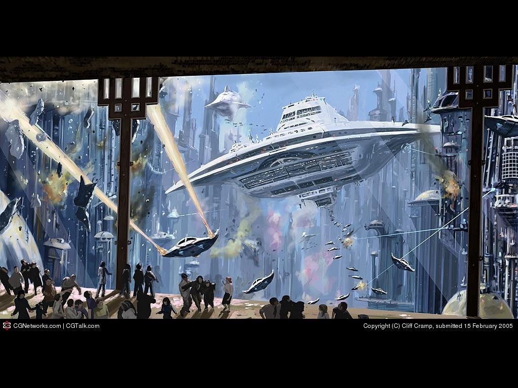 Fantasy Wallpaper: Invasion!