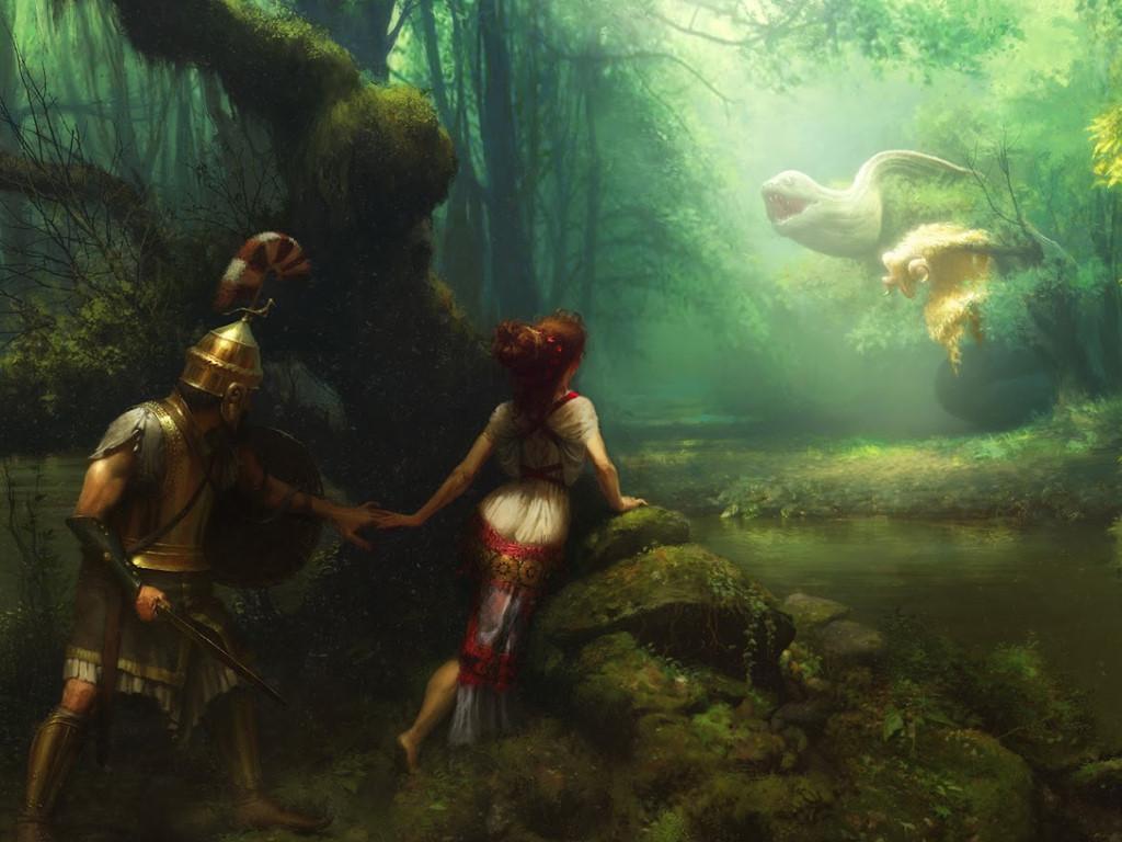 Fantasy Wallpaper: Jason and the Golden Fleece
