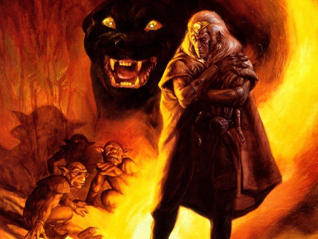 Fantasy Wallpaper: Jeff Easley - Drizzt