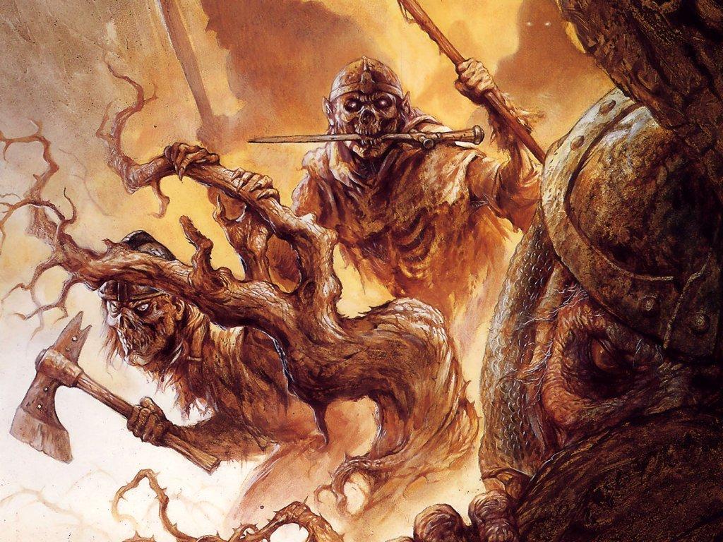 Fantasy Wallpaper: Jeff Easley - Undead Army