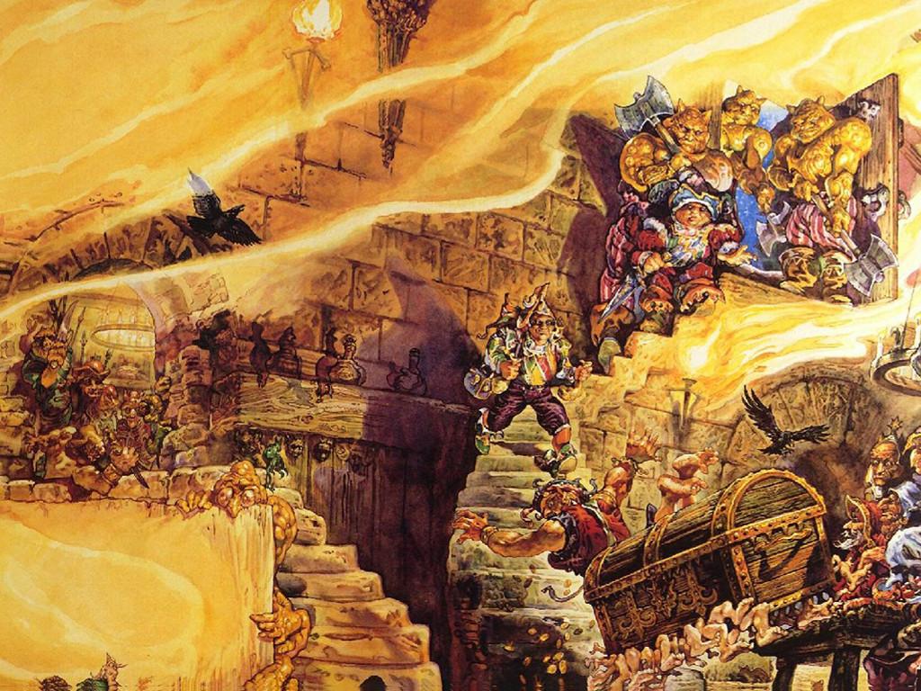 Fantasy Wallpaper: Josh Kirby - Discworld