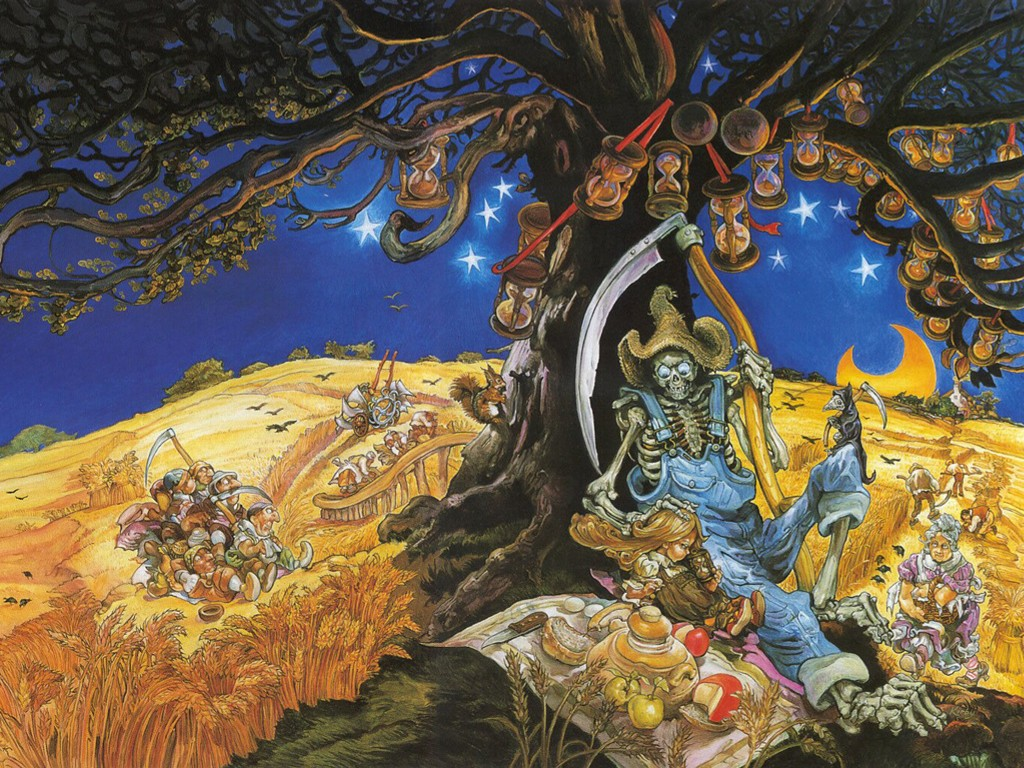 Fantasy Wallpaper: Josh Kirby - Discworld