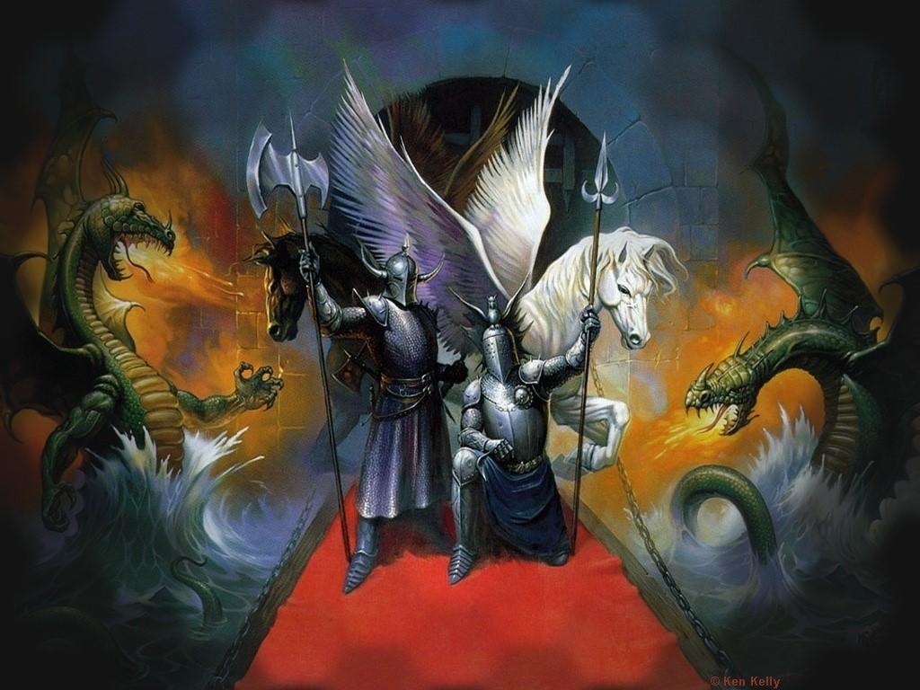 Fantasy Wallpaper: Kingdom of the Knights