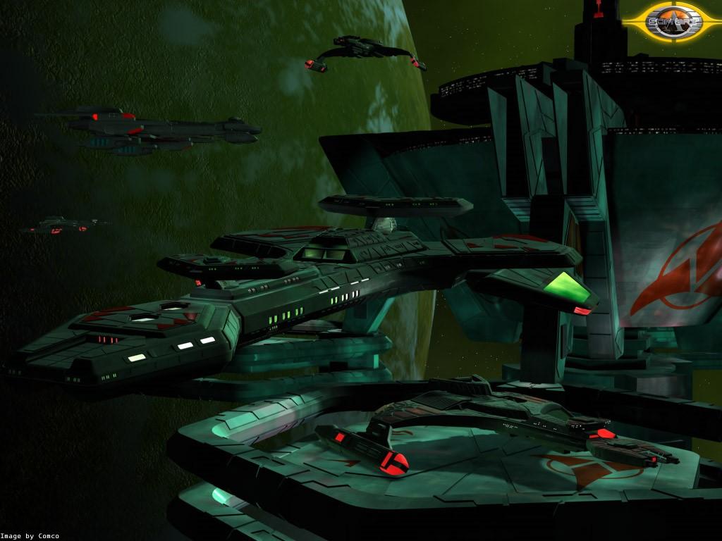 Fantasy Wallpaper: Klingon HQ