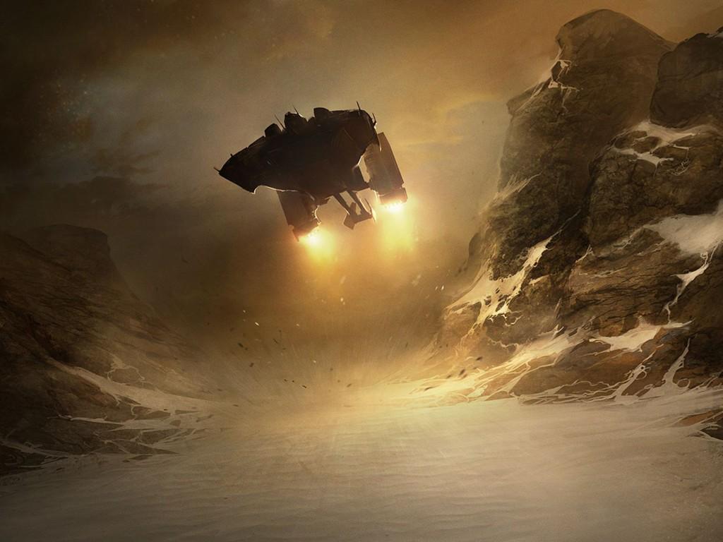 Fantasy Wallpaper: Landing