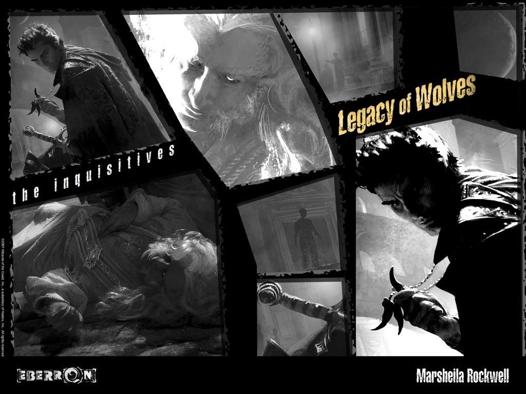 Fantasy Wallpaper: Legacy of Wolves
