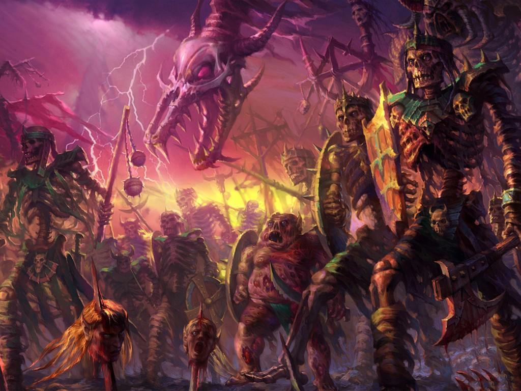 Fantasy Wallpaper: Legion of Undead