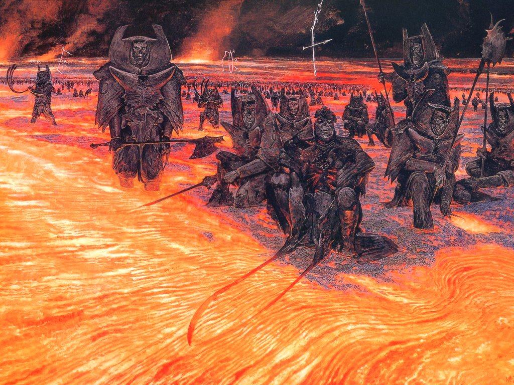 Fantasy Wallpaper: Legions of Hell