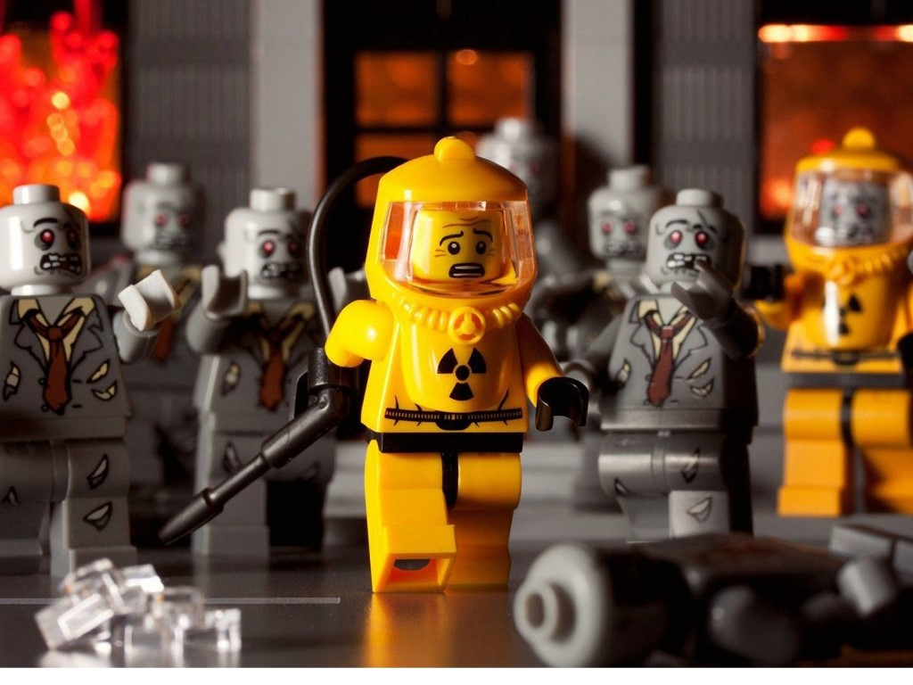 Fantasy Wallpaper: Lego - Zombies