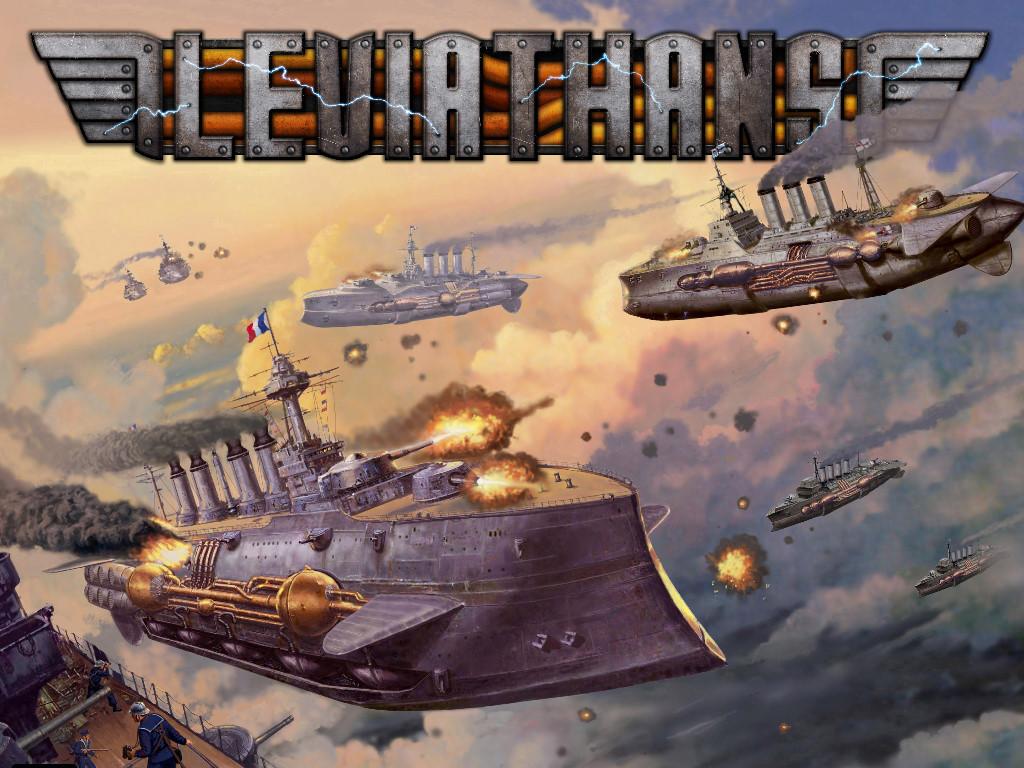 Fantasy Wallpaper: Leviathans
