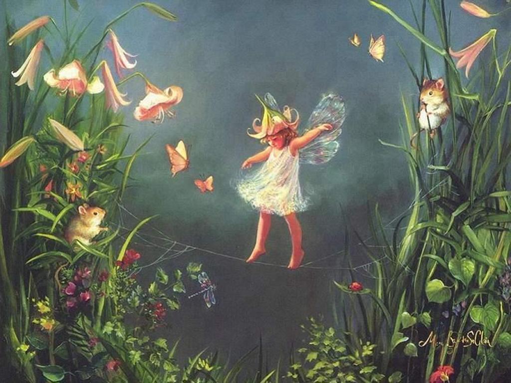 Fantasy Wallpaper: Little Fairy