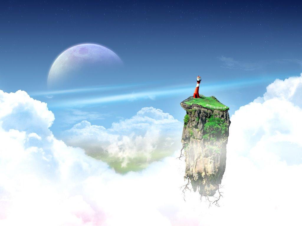 Fantasy Wallpaper: Lone Lighthouse