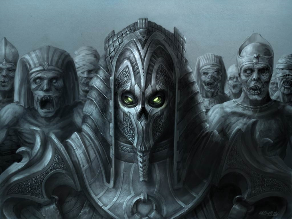 Fantasy Wallpaper: Lord of the Mummies