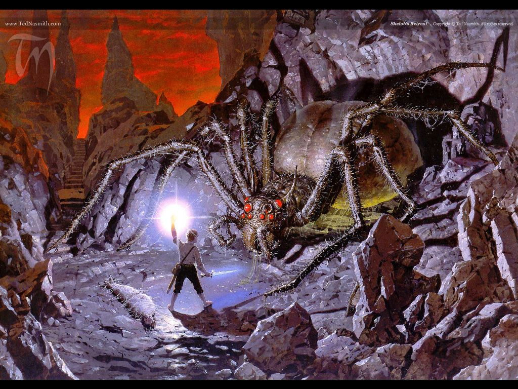 Fantasy Wallpaper: Lord of the Rings - Shelob