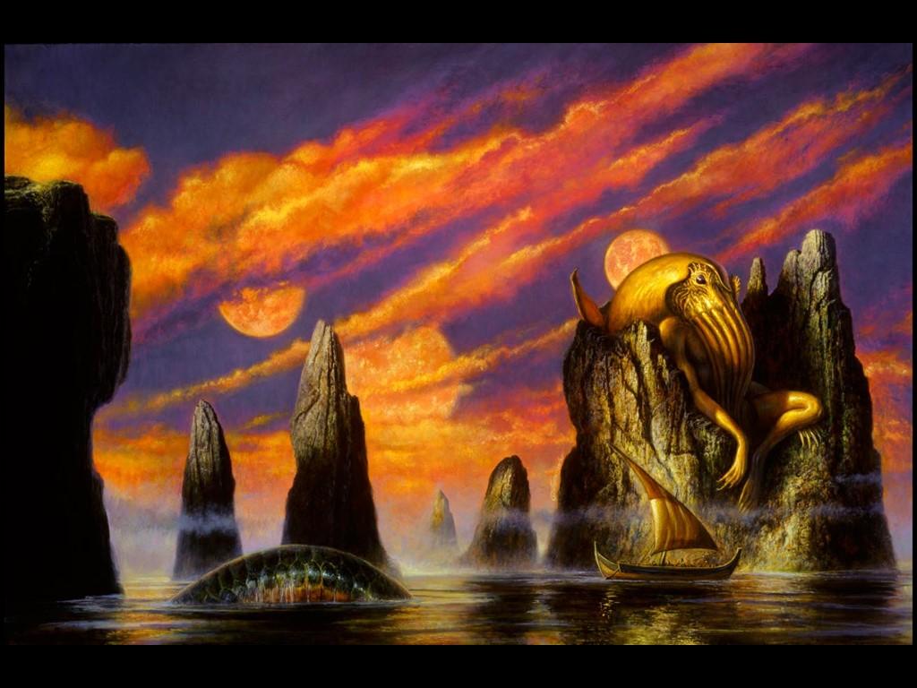 Fantasy Wallpaper: Lovecraftian Art - Tarrakesh