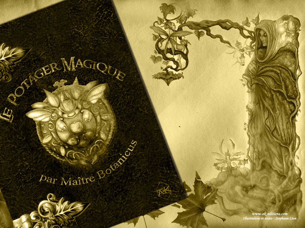 Fantasy Wallpaper: Maitre Botanicus