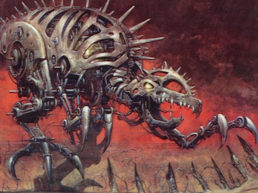Fantasy Wallpaper: Magic the Gathering - Clockwork Beast